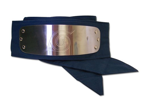 - Great Eastern GE-7712 Naruto Leaf Village Logo Headband Cosplay Headband