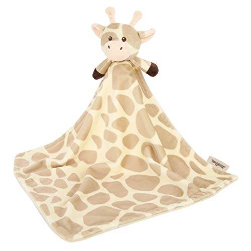 Zooawa Baby Security Blanket, Soft Stuffed Animal Plush Security Blanket Soothing Toy for Baby Toddlers Kids, Giraffe from Zooawa