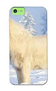 MMZ DIY PHONE CASECute Tpu Mooseynmv Horse Case Cover For iphone 5c