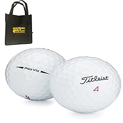 36 Titleist ProV1x 2017 AAAA Near Mint Used Golf Balls with Tote Bag