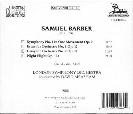 Samuel Barber  Adagio for Strings Op      YouTube YouTube