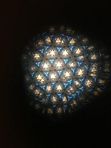 N & J Kaleidoscope Teleidoscope in Solid Padauk Wood, 6 Inches, Great Gift Idea! by N & J (Image #4)