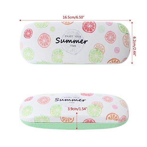 Lunettes à soleil Ananas de lunettes étui fruits de soleil Métal protection GUBENM portables sac à de de Étuis lunettes lunettes dur 7wpZZRFIq