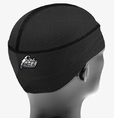 Tsurag (Small/Medium Black with Black) (Best Du Rags For Waves)