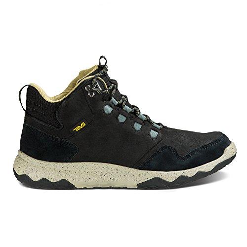 Teva Arrowood Lux Mid Wp, Zapatos de High Rise Senderismo para Hombre Black