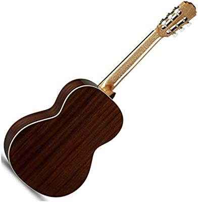 Alhambra 2C-US - Guitarra acústica clásica con bolsa, pulido ...