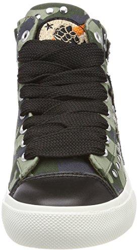 Sneaker Alto Emma mil Verde Collo Replay Grn A Donna 67qWw55CF