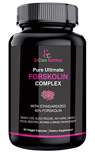 100 Pure Forskolin Extract For Weight Loss Belly Buster Appetite Suppressant Burn Fat Lose Weight Fast Lose Belly Fat Diet Pills Safe