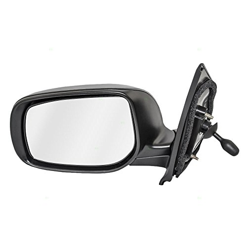 Sedan Driver Side Mirror - Drivers Manual Remote Side View Mirror Replacement for Toyota Yaris Sedan 87940-52780