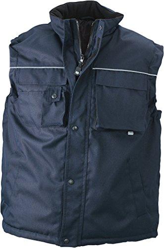 Vest Resistente Navy Workwear Imbottito Gilé Ed IwgHZwx