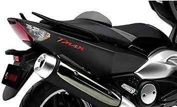 2 ADHESIVOS-STICKERS RESINA 3D ESCRITO TMAX para MOTO SCOOTER YAMAHA T MAX 500-530