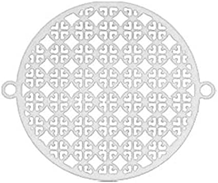 DIY Schmuck Sadingo Schmuckverbinder Zwischenstück Stern 2 Stk 13 x 7,4 mm
