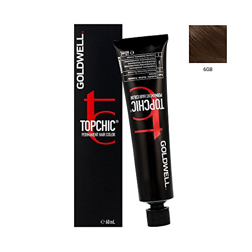 Goldwell Topchic Hair Color Coloration (Tube) 6GB Dark Bld. Gold Brown