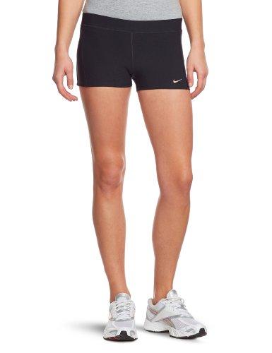 pour Nike argent mat Tempo femme Short Noir 4CqZxS5w