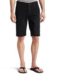 Ambig Men's Sanders Slim-Fit Shorts, Brit Wash, 28