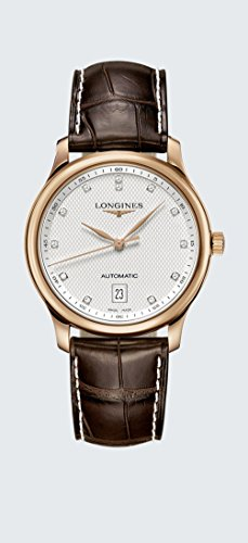 Longines Master Collection - L2.628.8.77.3 - Stainless Steel 18K Gold Diamond Dial Automatic Unisex