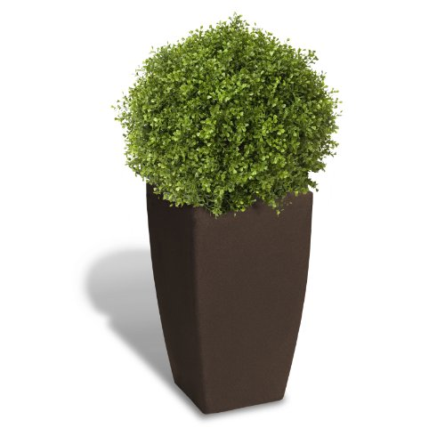 Algreen Products Madison Planter Brownstone