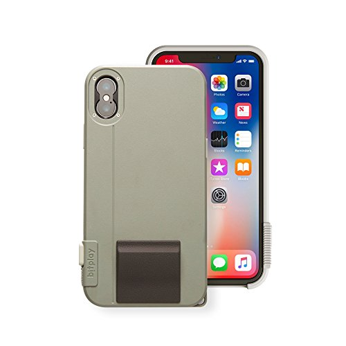 bitplay SNAP! X Khaki Green - Camera Case for iPhone X (Lenses Not Included) ...