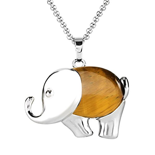 beadnova-natural-brown-tiger-eye-cute-elephant-gemstone-pendant-necklace-with-stainless-steel-chain-