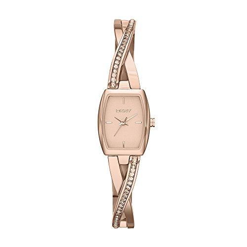 (DKNY Women's NY2238 CROSSWALK Rose Gold Watch)