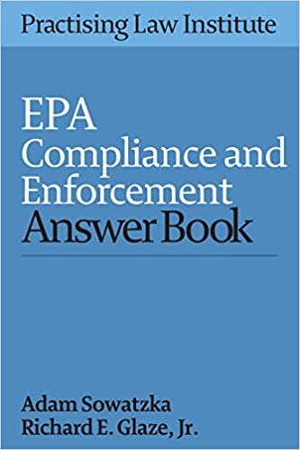 EPA Compliance and Enforcement Answer Book 201 5: Adam