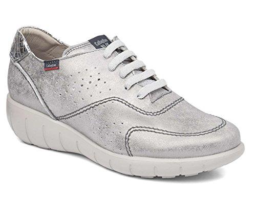 Para 11600 Mujer Cordones Plomo De Callaghan Zapatos Oxford BzdqxXw