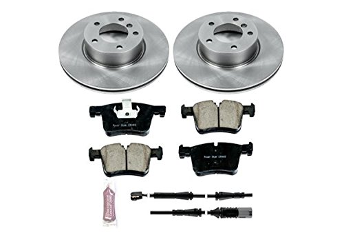 Autospecialty KOE6743 Daily Driver 1-Click OE Replacement Front Brake Kit