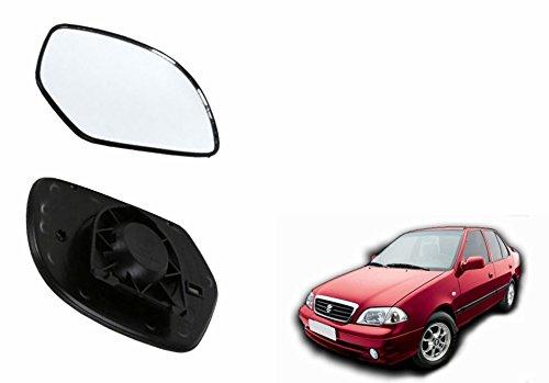 Speedwav Car Rear View Side Mirror Glass LEFT Maruti Esteem