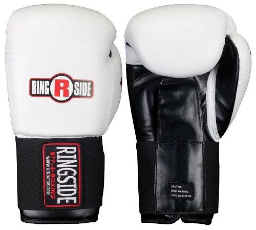 Ringside IMF Tech Sparring Boxing Gloves - 14 oz - White