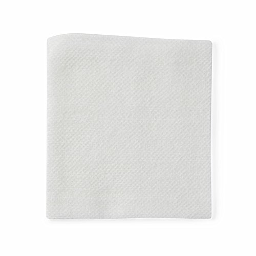 Medline PRM25444 Caring Non-Woven Non-Sterile Gauze Sponge, 4'' x 4'', 4-Ply (10 Packs of 200) by Medline (Image #1)