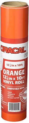 12 125 Oracal Orange Craft Vinyl product image