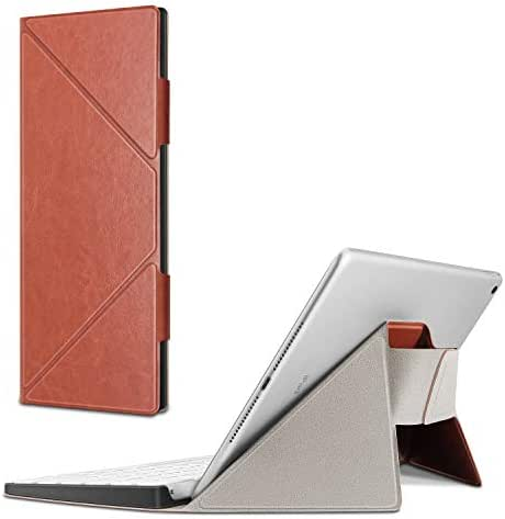 Fintie Carrying Case for Apple Magic Keyboard (MLA22LL) - Slim Lightweight Protective Standing Cover Working with iPhone/iPad/iPad Pro/iPad Air/iPad Mini/iMac, Saddle Brown