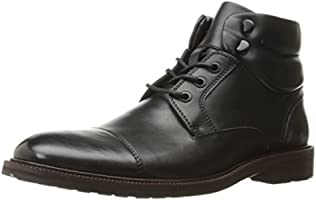 Kenneth Cole REACTION Men's Stop Drop N Roll Combat Boot, Black, 7 M US