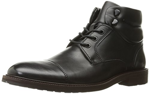 Kenneth Cole Reaction Roll - Kenneth Cole REACTION Men's Stop Drop N Roll Combat Boot, Black, 9.5 M US