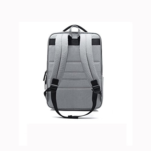Package Backpack Nylon 14 Multifunction Laptop Inches Lightgrey Daypack Business Plyy FwqX44