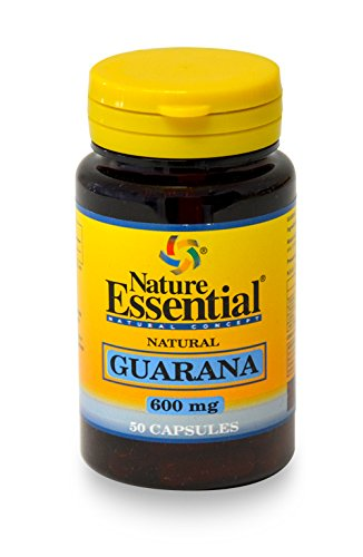 GUARANA 600 MG. 50 CÁPSULAS