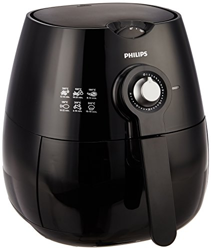 Philips Viva Collection HD9220 Air Fryer with Rapid Air Technology (Black)