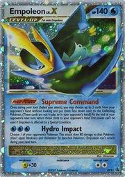 Pokemon - Empoleon LV.X - DP11 - Promotional (DP11) - Diamond and Pearl Black Star Promos - Holo