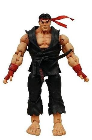 Street Fighter 4 Ryu Costumes (Street Fighter IV Survival Mode NECA Player Select Action Figure Ryu)