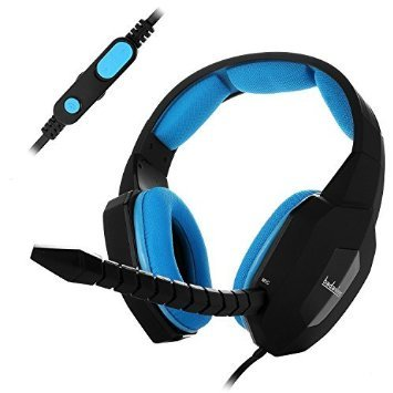 badasheng Over Ear Gaming Headset For Xbox One, PS4 & PC, Al