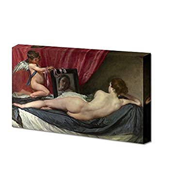 Rokeby Venus by Diego Velazquez Giclee Canvas Prints Wrapped Gallery Wall Art | Stretched and Framed Ready to Hang - 24