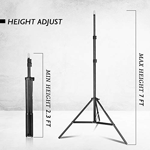 Emart 8.5 x 10 ft Backdrop Support System, Photography Video Studio Lighting Kit Umbrella Softbox Set Continuous Lighting for Photo Studio Product, Portrait and Video Shooting Photography by EMART (Image #4)