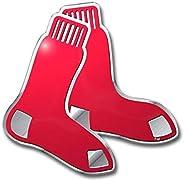 "MLB Boston Red Sox Die Cut Color Automobile Emblem, 4"""