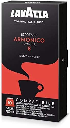 100 capsule caffè Lavazza compatibili NESPRESSO MISCELA ARMONICO