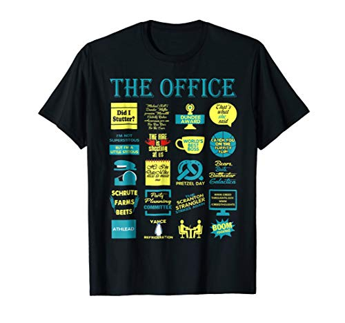 (Official T-Shirts The Office Quote Mash-Up Funny)