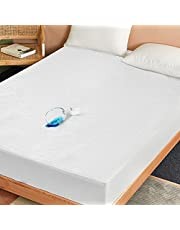 Waterproof Mattress Protector Twin Size Hypoallergenic Bed Mattress Cover, Ultra Soft and Breathable Cotton Terry Vinyl Free TPU Noiseless Mattress Protector Fitted up to 18'' Depth Pocket (39 x 75inch)