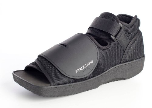 ProCare Squared Toe Post-Op Shoe, Medium (Shoe Size: Men's 7.5-9 / Women's 8.5-10) by ProCare