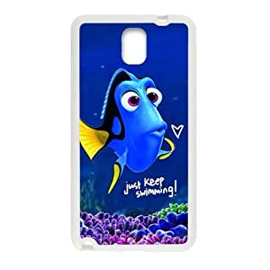 Turtle Rock blue lovely fish Cell Phone Case for Samsung Galaxy Note3
