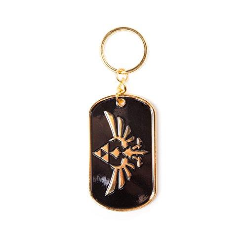 Zelda FEDKE1UBPZSS Wingcrest Logo Metal Keychain