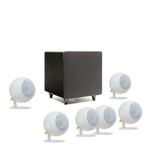 Orb Audio Mini 5.1 Plus - Pearl White Gloss by Orb Audio